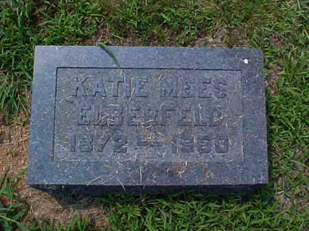 MEES ELBERFELD, KATIE - Meigs County, Ohio   KATIE MEES ELBERFELD - Ohio Gravestone Photos