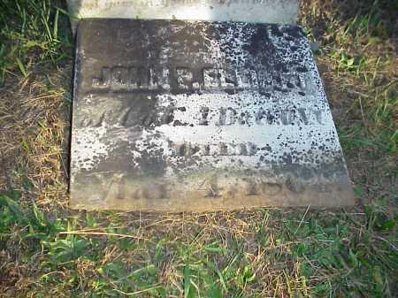 ELLIOTT, JOHN P. - Meigs County, Ohio | JOHN P. ELLIOTT - Ohio Gravestone Photos