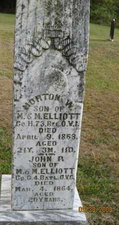 ELLIOTT, JOHN R. - Meigs County, Ohio | JOHN R. ELLIOTT - Ohio Gravestone Photos
