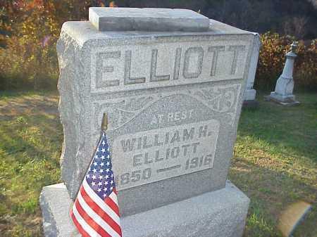 ELLIOTT, WILLIAM H. - Meigs County, Ohio   WILLIAM H. ELLIOTT - Ohio Gravestone Photos