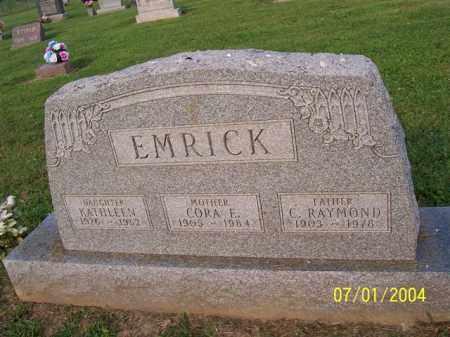 EMRICK, KATHLEEN - Meigs County, Ohio | KATHLEEN EMRICK - Ohio Gravestone Photos