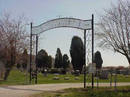 ENTRANCE, LETART CEMETERY - Meigs County, Ohio | LETART CEMETERY ENTRANCE - Ohio Gravestone Photos