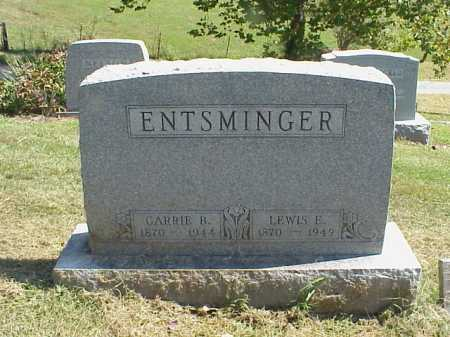 MCKNIGHT ENTSMINGER, CARRIE B. - Meigs County, Ohio | CARRIE B. MCKNIGHT ENTSMINGER - Ohio Gravestone Photos