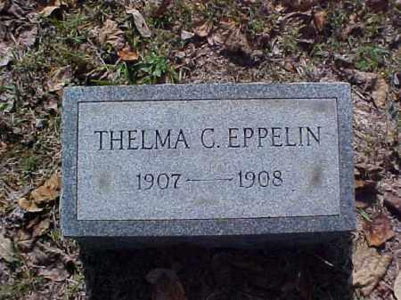 EPPELIN, THELMA C. - Meigs County, Ohio   THELMA C. EPPELIN - Ohio Gravestone Photos