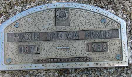 EPPLE, ADDIE - Meigs County, Ohio | ADDIE EPPLE - Ohio Gravestone Photos