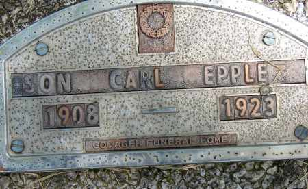 EPPLE, CARL - Meigs County, Ohio | CARL EPPLE - Ohio Gravestone Photos