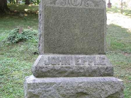 EPPLE, JOHN - Meigs County, Ohio   JOHN EPPLE - Ohio Gravestone Photos