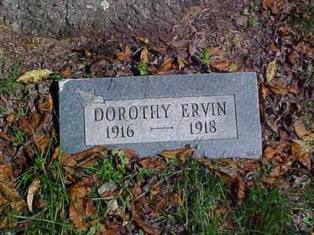 ERVIN, DOROTHY - Meigs County, Ohio | DOROTHY ERVIN - Ohio Gravestone Photos