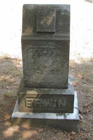 ERWIN, ANDREW - Meigs County, Ohio | ANDREW ERWIN - Ohio Gravestone Photos