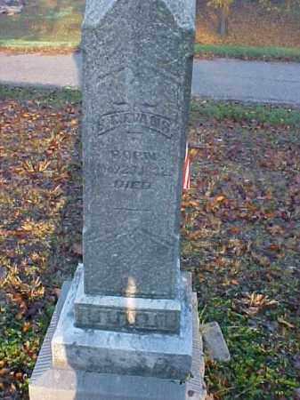 EVANS, BENONI C. - Meigs County, Ohio | BENONI C. EVANS - Ohio Gravestone Photos