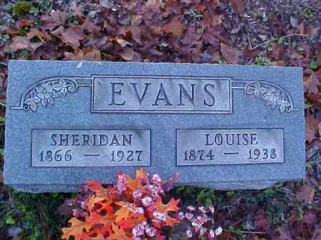 EVANS, LOUISE - Meigs County, Ohio | LOUISE EVANS - Ohio Gravestone Photos