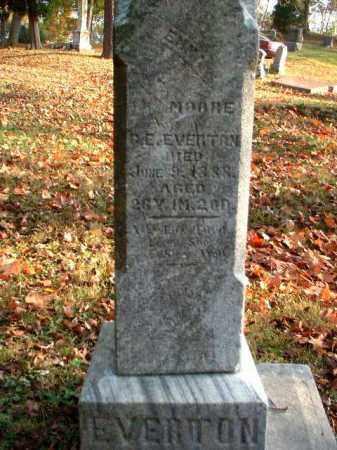 MOORE EVERTON, EMMA - Meigs County, Ohio | EMMA MOORE EVERTON - Ohio Gravestone Photos