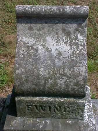 EWING, JENNIE - Meigs County, Ohio | JENNIE EWING - Ohio Gravestone Photos