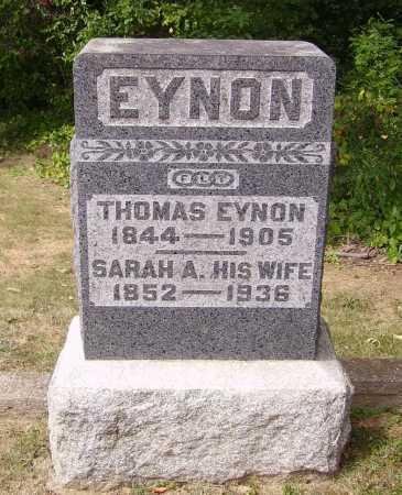 EYNON, THOMAS - Meigs County, Ohio   THOMAS EYNON - Ohio Gravestone Photos