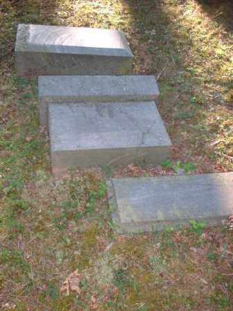 FALLEN STONE, UNKNOWN - Meigs County, Ohio | UNKNOWN FALLEN STONE - Ohio Gravestone Photos