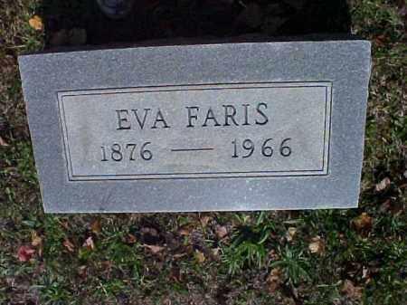 FARIS, EVA - Meigs County, Ohio | EVA FARIS - Ohio Gravestone Photos