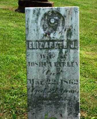 FARLEY, ELIZABETH J. - Meigs County, Ohio   ELIZABETH J. FARLEY - Ohio Gravestone Photos