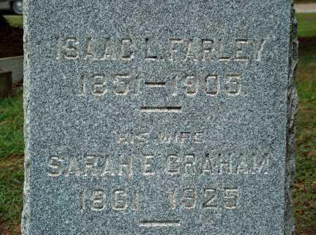 FARLEY, ISAAC L. - Meigs County, Ohio   ISAAC L. FARLEY - Ohio Gravestone Photos