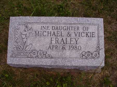 FRALEY, INFANT DAUGHTER - Meigs County, Ohio | INFANT DAUGHTER FRALEY - Ohio Gravestone Photos