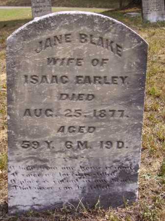 FARLEY, JANE - Meigs County, Ohio | JANE FARLEY - Ohio Gravestone Photos