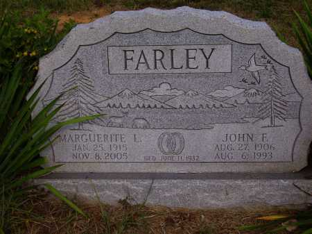 FARLEY, MARGUERITE L. - Meigs County, Ohio | MARGUERITE L. FARLEY - Ohio Gravestone Photos