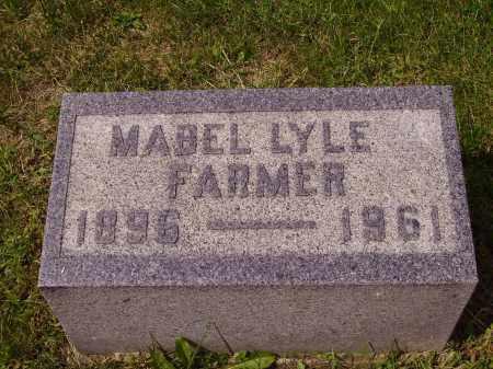 LYLE FARMER, MABLE - Meigs County, Ohio | MABLE LYLE FARMER - Ohio Gravestone Photos