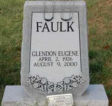 FAULK, GLENDON EUGENE - Meigs County, Ohio | GLENDON EUGENE FAULK - Ohio Gravestone Photos
