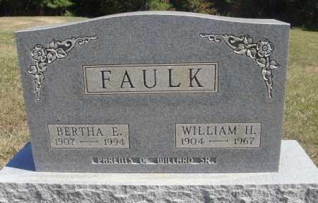 FAULK, WILLIAM H. - Meigs County, Ohio | WILLIAM H. FAULK - Ohio Gravestone Photos