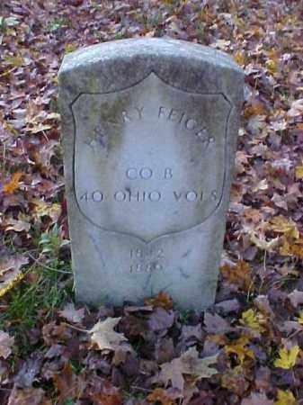FEIGER, HENRY - Meigs County, Ohio | HENRY FEIGER - Ohio Gravestone Photos