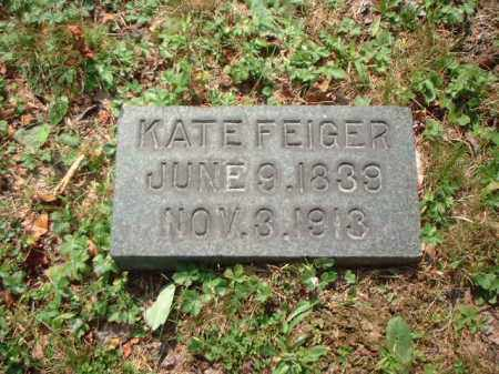 KEISER FEIGER, KATE - Meigs County, Ohio | KATE KEISER FEIGER - Ohio Gravestone Photos