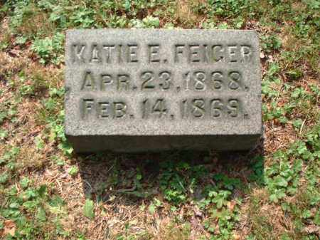 FEIGER, KATIE E. - Meigs County, Ohio | KATIE E. FEIGER - Ohio Gravestone Photos