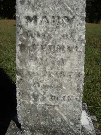 FERRE, MARY - CLOSER VIEW - Meigs County, Ohio | MARY - CLOSER VIEW FERRE - Ohio Gravestone Photos