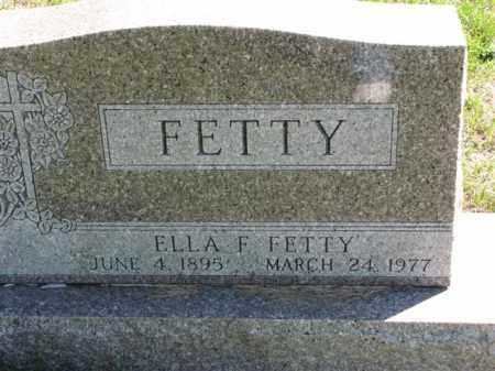 FETTY, ELLA F. - Meigs County, Ohio | ELLA F. FETTY - Ohio Gravestone Photos