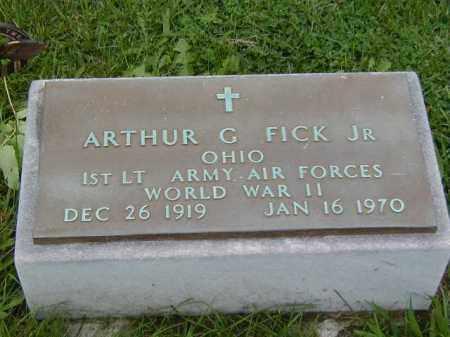 FICK, ARTHUR G., JR. - Meigs County, Ohio | ARTHUR G., JR. FICK - Ohio Gravestone Photos