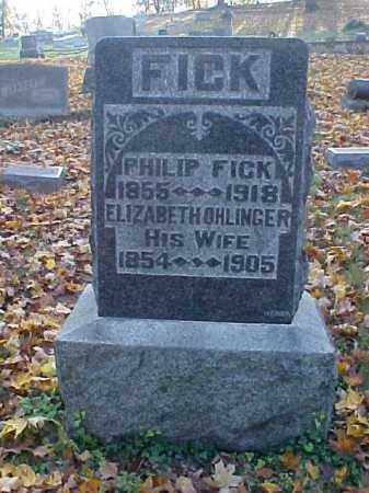 FICK, PHILIP - Meigs County, Ohio | PHILIP FICK - Ohio Gravestone Photos