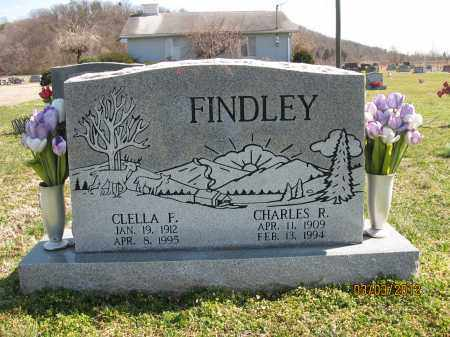 FINDLEY, CLELLA F - Meigs County, Ohio | CLELLA F FINDLEY - Ohio Gravestone Photos