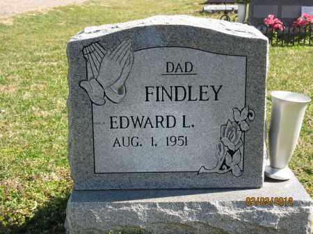 FINDLEY, EDWARD L - Meigs County, Ohio | EDWARD L FINDLEY - Ohio Gravestone Photos