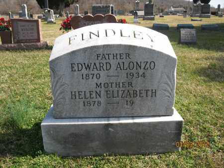 FINDLEY, EDWARD ALONZO - Meigs County, Ohio | EDWARD ALONZO FINDLEY - Ohio Gravestone Photos