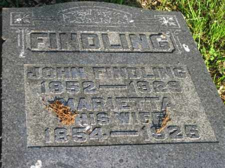 FINDLING, MARIETTA - Meigs County, Ohio | MARIETTA FINDLING - Ohio Gravestone Photos