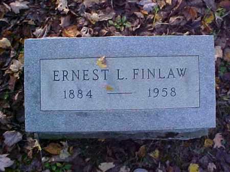 FINLAW, ERNEST L. - Meigs County, Ohio   ERNEST L. FINLAW - Ohio Gravestone Photos