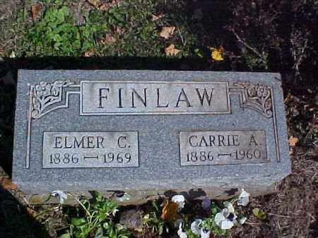 FINLAW, CARRIE A. - Meigs County, Ohio | CARRIE A. FINLAW - Ohio Gravestone Photos