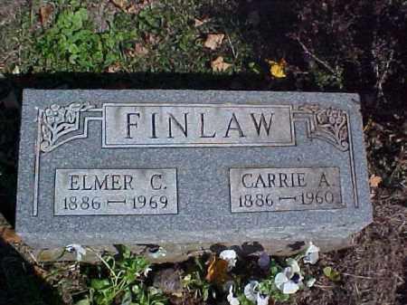 FINLAW, ELMER C. - Meigs County, Ohio | ELMER C. FINLAW - Ohio Gravestone Photos