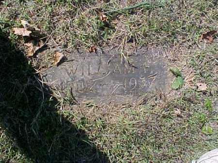 FISCHER, WILLIAM F. - Meigs County, Ohio | WILLIAM F. FISCHER - Ohio Gravestone Photos