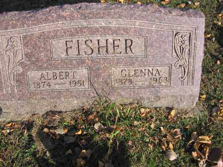 FISHER, GLENNA - Meigs County, Ohio   GLENNA FISHER - Ohio Gravestone Photos