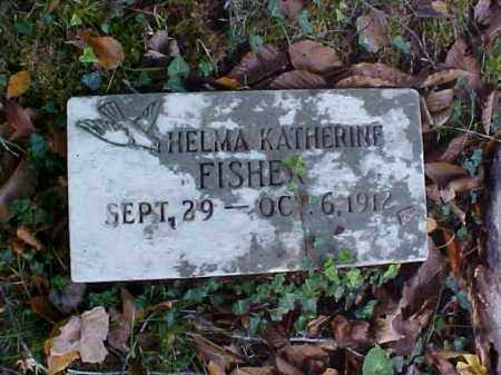 FISHER, HELMA KATHERINE - Meigs County, Ohio | HELMA KATHERINE FISHER - Ohio Gravestone Photos