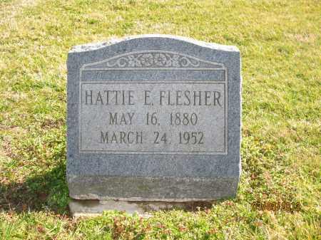 FLESHER, HATTIE E - Meigs County, Ohio   HATTIE E FLESHER - Ohio Gravestone Photos