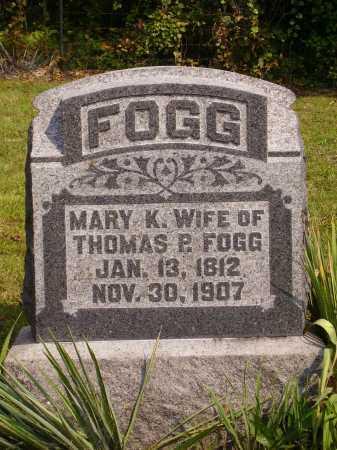 SOULE FOGG, MARY K. - Meigs County, Ohio | MARY K. SOULE FOGG - Ohio Gravestone Photos