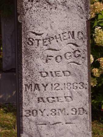 FOGG, STEPHEN C. - Meigs County, Ohio | STEPHEN C. FOGG - Ohio Gravestone Photos