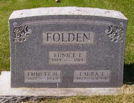 BUNT FOLDEN, LAURA E. - Meigs County, Ohio | LAURA E. BUNT FOLDEN - Ohio Gravestone Photos