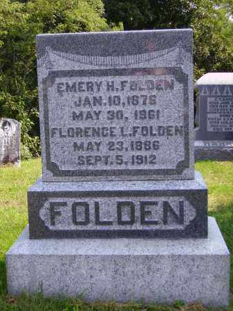 LUTZ FOLDEN, FLORENCE L. - Meigs County, Ohio | FLORENCE L. LUTZ FOLDEN - Ohio Gravestone Photos